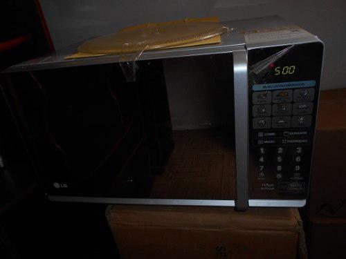 Microondas Lg Tipo Espejo Mh1147ap Con Grill