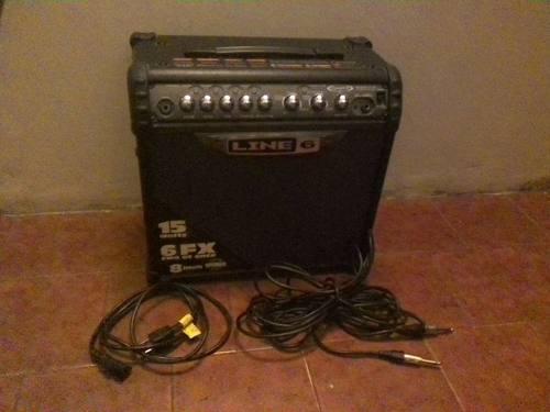Amplificador Line 6 Spider Iii 15 Watts De 6 5 Ameriknos
