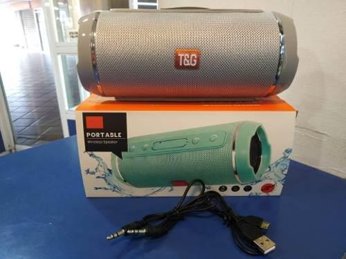Corneta Portatil Recargable T&g Bluetooth Fm Mp3 Msd (20)