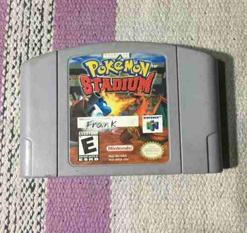Juego Nintendo 64 Pokemon Stadium