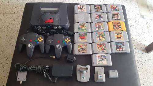 Nintendo 64 Completo Con Juegos **** Haga Oferta Razonable