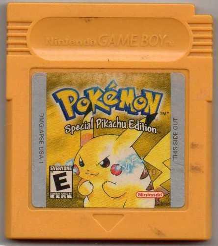 Pokémon Special Pikachu.juego Gameboy Original Usado Qq 15