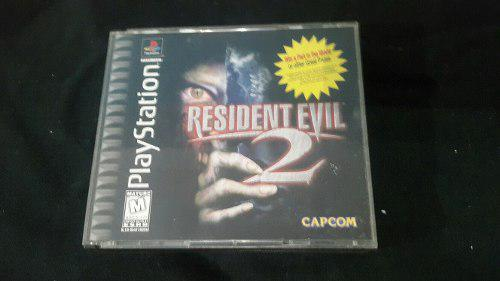 Resident Evil 2 Ps1 Play Station 1 Original 2 Cds