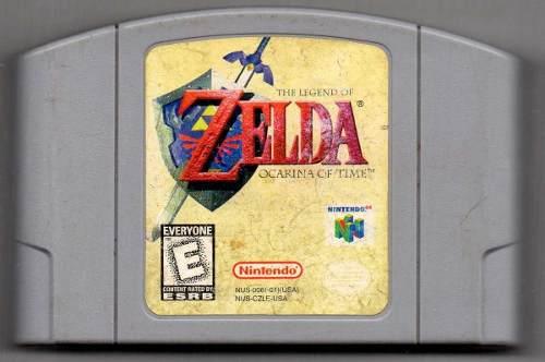 The Legend Of Zelda Ocarina. N64 Juego Original Usado Qq16