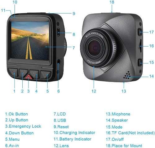Camara De Video Para Automoviles