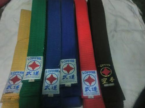 Cinturóne De Karate