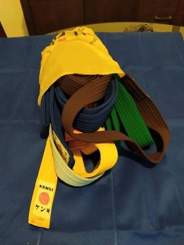 Cinturones De Karate Aprox. Talla M Colores Variados