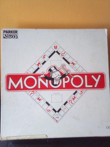 Monopoly Juego De Mesa. Completo. En Físico. Rp