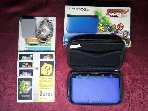 Nintendo 3ds Xl Con 32gb Full Juegos Y Accesorios