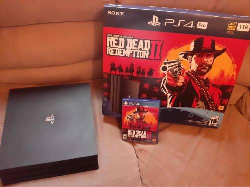 Playstation 4 Pro Ps4 Pro Red Dead Redemption.
