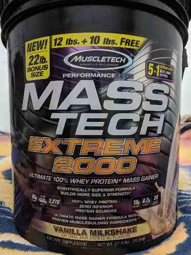 Vaso Mezclador Mass Tech Extreme )
