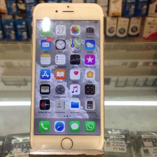 iPhone 6s De 128gb Liberar Con Rsim Oigo Cambios Por Cel