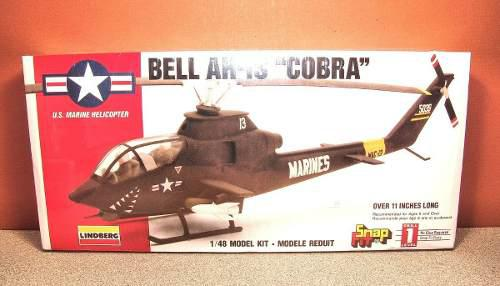 Ah-1s Cobra Helicoptero Armable. (10verds)