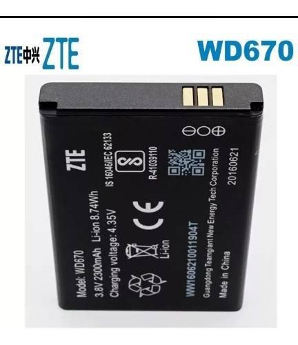 Bateria Pila Zte Wd670 WiPod 2300mah 3.8v