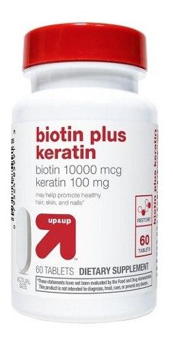 Biotin Plus Keratin Acelera Crecimiento Uñas Cabello