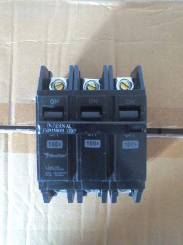 Breaker Seastar Superfial Thqc 3x100 Amp