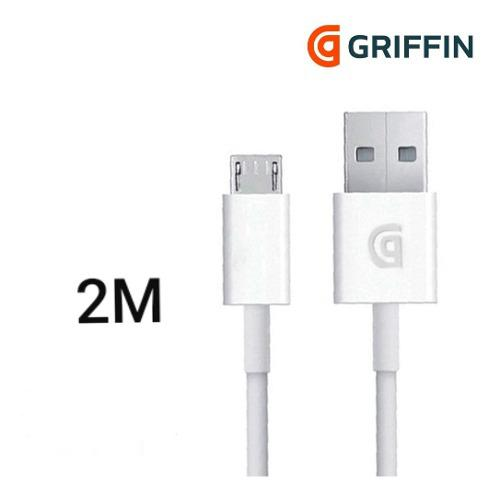 Cable Micro Usb Original Samsung Huawei Griffin 2 Metros