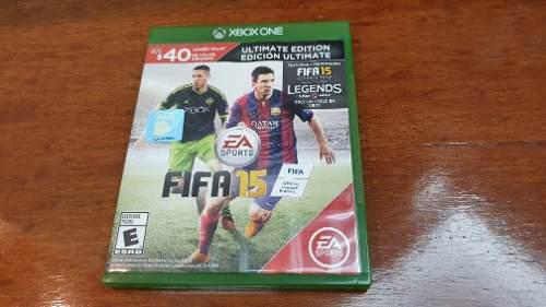 Fifa 15 Para Xbox One En Impecables Condiciones. 10 Trumps.