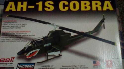 Helicóptero Cobra Lindberg 1/48