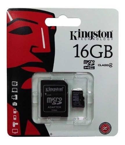 Memoria Micro Sd Kingston 16 Gb Class 4 Oferta