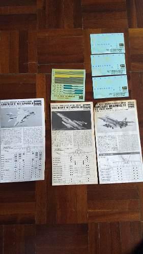 Set De Bombas Y Misiles Para Aviones De Hasegawa 1/72
