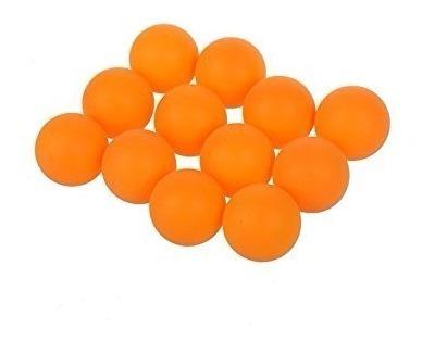 60 Pelotas Ping Pong 40mm Tenis Mesa Color Naranja