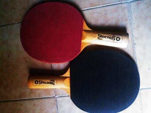 Juego De Raquetas Para Ping Pong Marca Spalding
