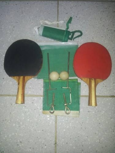 Set De Raquetas De Ping Pong