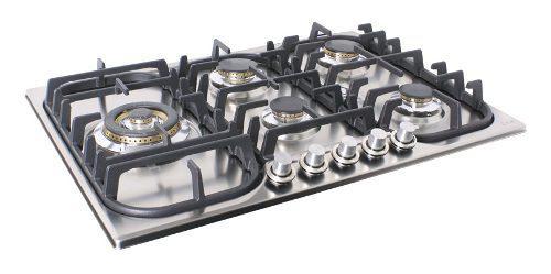 Tope De Cocina A Gas Ilve 70 Cm Para Empotrar