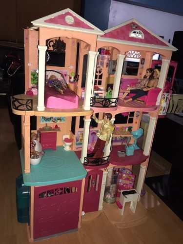 Casa De La Barbie Más Carro