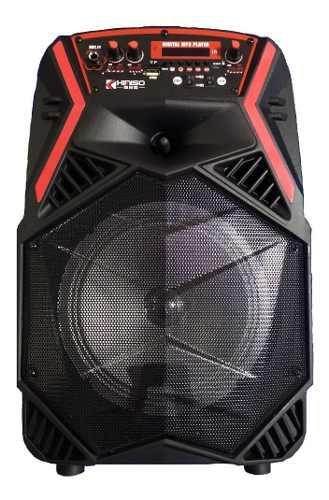 Corneta Inalambrica Karaoke Bluetooth Pendrive Kimiso Nueva