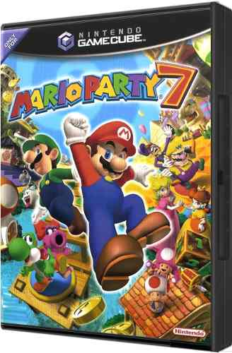 Juego Original Mario Party 7 Para Consola Nintendo Gamecube