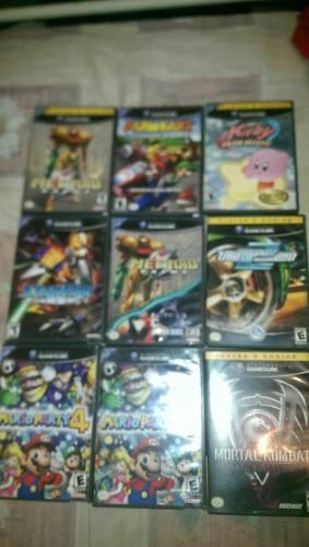 Juegos De Gamecube Originales Marios