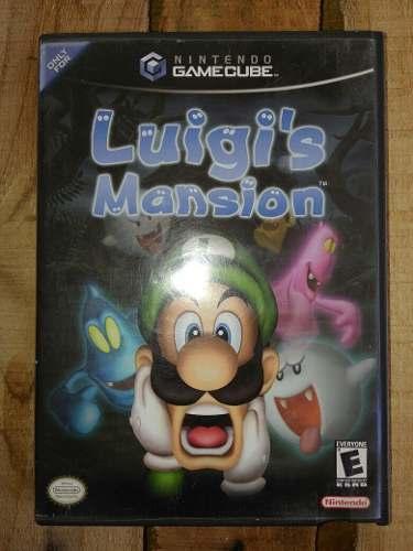 Luigis Mansion Nintendo Gamecube Juego