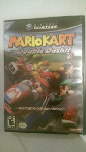 Mario Kart Original Nintendo Gamecube Con Sus Manuales(25v)