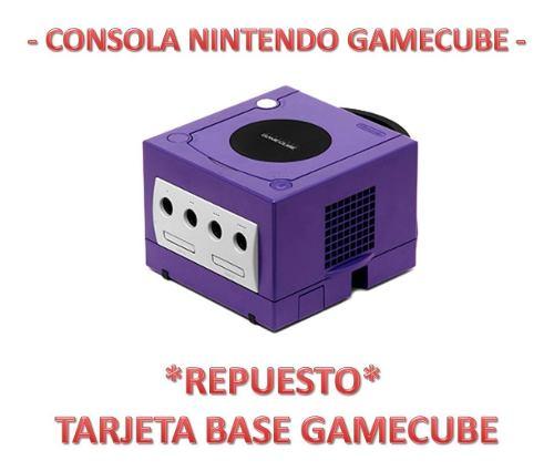 Repuesto Original Tarjeta Base Para Consola Gamecube (4v)