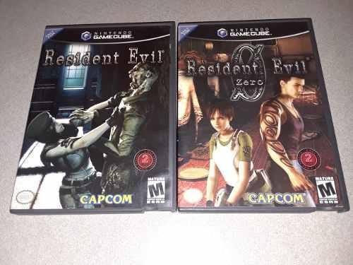 Resident Evil / Resident Evil Zero / Nintendo Gamecube Wii
