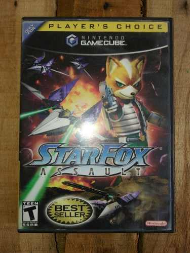 Starfox Assault Nintendo Gamecube Juego Original