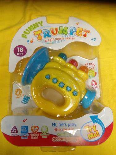 Trompetica Para Bebes Con Luces Y Sonido