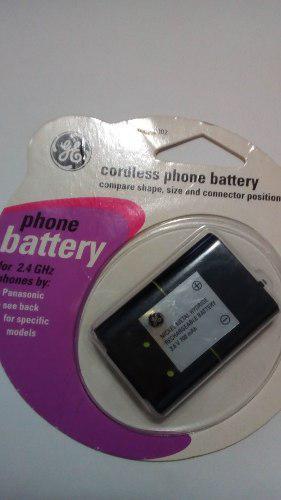 Batería Ge Para Teléfono Panasonic Inalámbrico Original