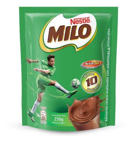 Bebida Achocolatada Milo 250gr Bolsa