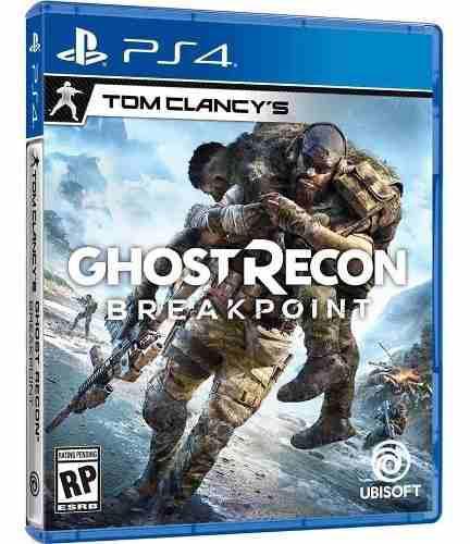 Ghost Recon Breakpoint Ps4 Físico Nuevo Sellado