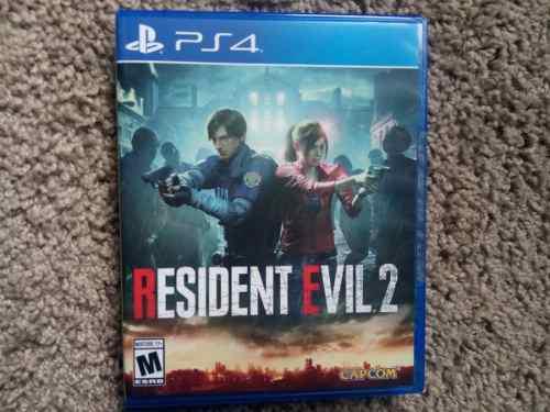 Resident Evil 2 Ps4 Nuevo Sellado