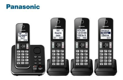 Telefono Inalambrico Panasonic Mod: Kx-tgd394c 4 Auriculares