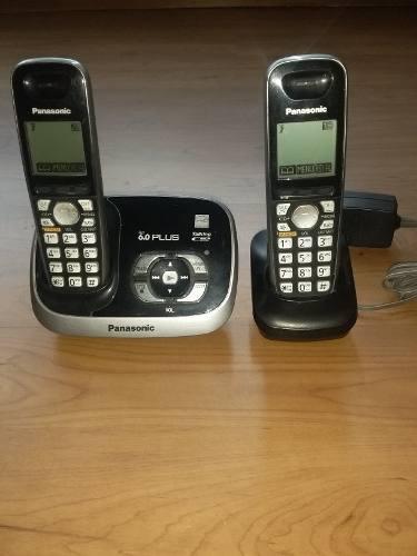 Telefono Panasonic 6.0 Plus Inalambrico Cantv 2 Estaciones