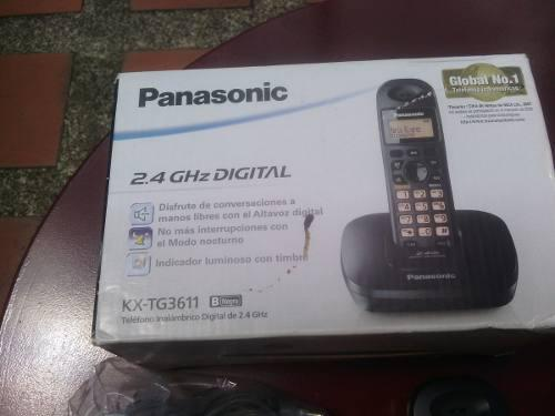 Teléfono Inalambrico Digital De 2.4 Ghz, Panasonic