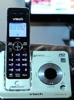 Teléfono Inalámbrico Vtech Con Contestadora