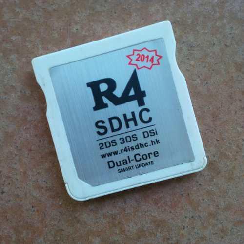 Adaptador De Memoria R4 Dual Core 2ds 3ds 3dsi Con Micro 4gb