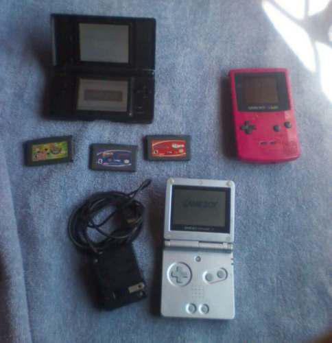 Aprovecha Yaaaa Ds Lite, Gameboy Color Y Gameboy Advance
