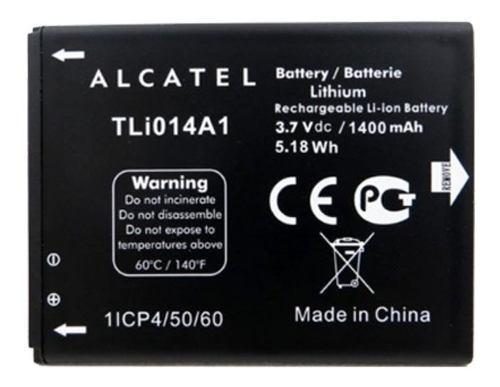 Bateria Pila Alcatel Tli014a1 Ot5020 Ot983 Ot4010 Ot4033 910